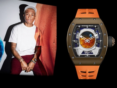 Pharrell Williams y su magnífico Richard Mille RM 52-05 Tourbillon