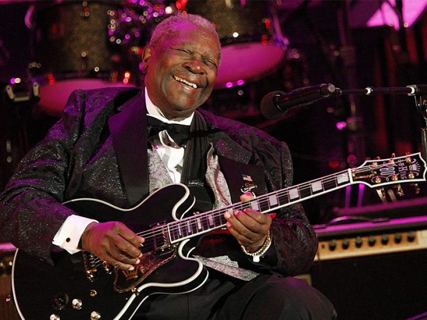 Venden una legendaria guitarra de B.B King por US$ 280.000 dólares